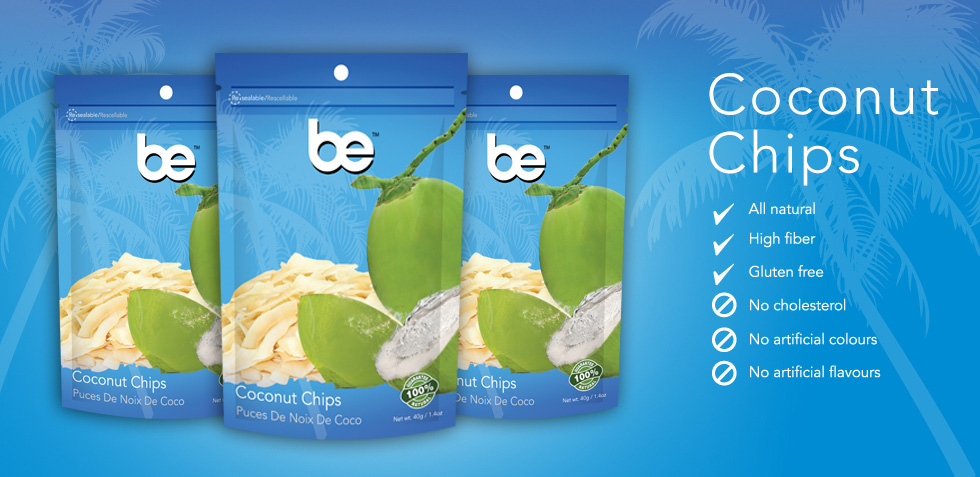 Be Coconut Chips